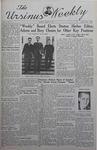 The Ursinus Weekly, March 17, 1941 by Nicholas Barry, Garfield Sieber Pancoast, and James Zeigler