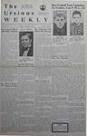 The Ursinus Weekly, October 16, 1939