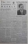 The Ursinus Weekly, November 27, 1939