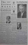 The Ursinus Weekly, January 8, 1940
