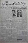 The Ursinus Weekly, April 15, 1940