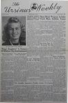 The Ursinus Weekly, May 6, 1940