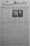 The Ursinus Weekly, May 13, 1940