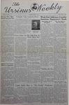 The Ursinus Weekly, June 3, 1940 by Nicholas Barry, Garnet Adams, Bob Cooke, Betty Knoll, Winifred Kapp, Marion Witmer, Betty Dakay, Dillwyn Darlington, and Douglas Davis