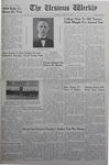 The Ursinus Weekly, November 14, 1938