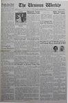 The Ursinus Weekly, November 28, 1938 by Allen Dunn, Harry Atkinson, Carlton Davis, and Robert Yoh
