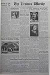 The Ursinus Weekly, December 12, 1938