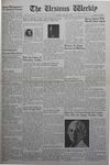 The Ursinus Weekly, January 9, 1939
