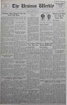 The Ursinus Weekly, November 8, 1937