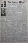 The Ursinus Weekly, April 4, 1938 by Vernon Groff, Kenneth Clouse, Utahna Basow, Franklin Irvin Sheeder Jr., David Hartman, and Carlton Davis