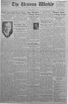 The Ursinus Weekly, January 11, 1937 by Abe E. Lipkin