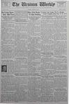 The Ursinus Weekly, January 18, 1937 by Abe E. Lipkin