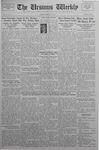 The Ursinus Weekly, February 15, 1937 by Abe E. Lipkin and J. Lynn Barnard