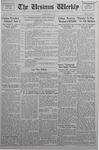 The Ursinus Weekly, May 10, 1937 by Vernon Groff, David Hartman, and Harold Chern