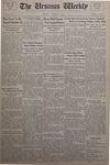 The Ursinus Weekly, October 7, 1935