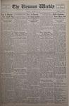 The Ursinus Weekly, October 14, 1935