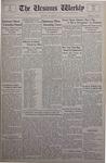 The Ursinus Weekly, November 4, 1935