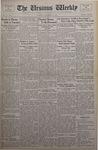 The Ursinus Weekly, November 11, 1935 by E. Kermit Harbaugh