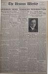 The Ursinus Weekly, December 2, 1935
