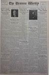 The Ursinus Weekly, September 17, 1934