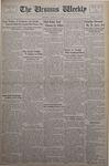 The Ursinus Weekly, October 15, 1934