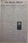 The Ursinus Weekly, October 22, 1934