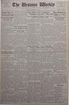 The Ursinus Weekly, November 12, 1934 by George Leslie Omwake and Jesse Heiges