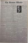 The Ursinus Weekly, November 26, 1934
