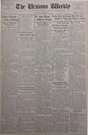 The Ursinus Weekly, December 3, 1934 by George Leslie Omwake, J. Harold Brownback, and Jesse Heiges