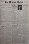 The Ursinus Weekly, December 17, 1934