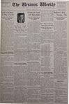 The Ursinus Weekly, February 11, 1935