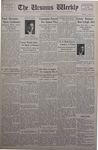 The Ursinus Weekly, April 29, 1935