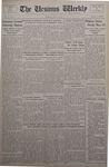 The Ursinus Weekly, May 27, 1935