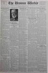 The Ursinus Weekly, September 18, 1933