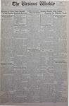 The Ursinus Weekly, September 25, 1933