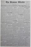 The Ursinus Weekly, October 16, 1933