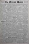 The Ursinus Weekly, November 6, 1933