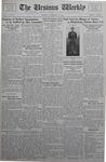 The Ursinus Weekly, November 13, 1933