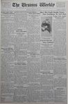 The Ursinus Weekly, November 20, 1933