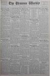 The Ursinus Weekly, November 27, 1933