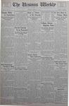 The Ursinus Weekly, January 8, 1934