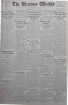 The Ursinus Weekly, January 15, 1934