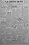 The Ursinus Weekly, February 12, 1934