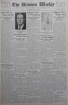 The Ursinus Weekly, April 9, 1934