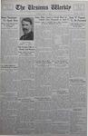 The Ursinus Weekly, April 16, 1934
