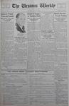 The Ursinus Weekly, April 23, 1934