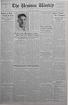 The Ursinus Weekly, April 30, 1934