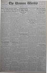 The Ursinus Weekly, May 7, 1934