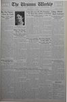 The Ursinus Weekly, May 14, 1934 by E. Kermit Harbaugh, Jesse Heiges, and George Leslie Omwake