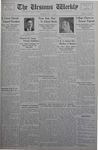 The Ursinus Weekly, May 21, 1934 by Thomas J. Beddow, Jesse Heiges, and George Leslie Omwake